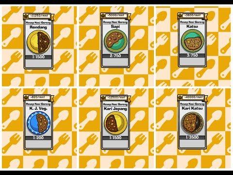 Video Resep Nasi Goreng Rendang, Sapi, Katsu, Kari Katsu, Kari Jepang, Kari Jepang Vegetarian