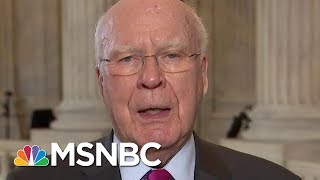 """Leahy: """"We've Never Had A Fully Satisfactory Answer"""" From AG Jeff Sessions 