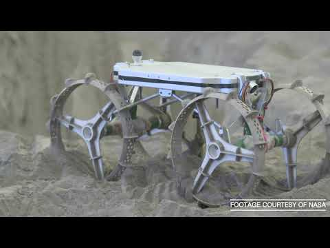 У NASA випробували нову модель найменшого планетоходу