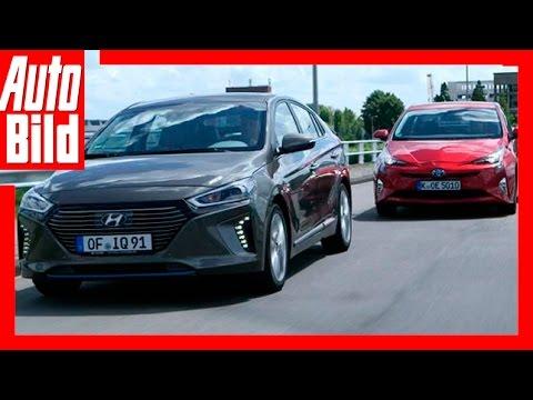 Hybrid: Hyundai Ioniq vs. Toyota Prius (2016)