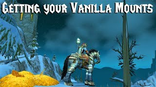 Saving and Farming for Mounts in Vanilla/Classic WoW - A Guide