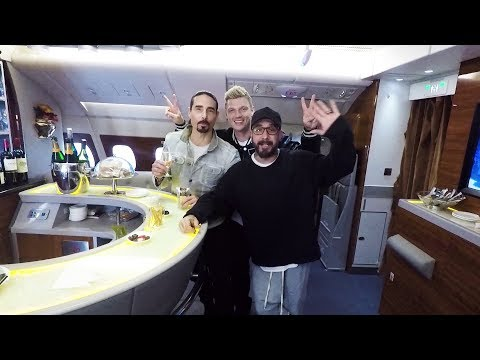 Emirates - A message from the Backstreet Boys!