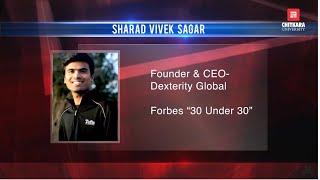 Just Candid with Sharad Vivek Sagar | Chitkara University