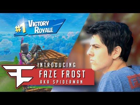 Introducing FaZe Frost AKA Spiderman