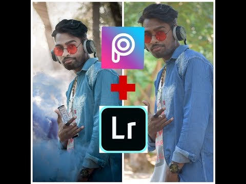 PicsArt  & Lightroom pics editing totirial ||Best pics Editing|| 2019  By //MP EDITOR//