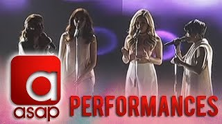 "Sarah, Yeng, Angeline, KZ in ""Pitch Perfect"" Acapella Performance"