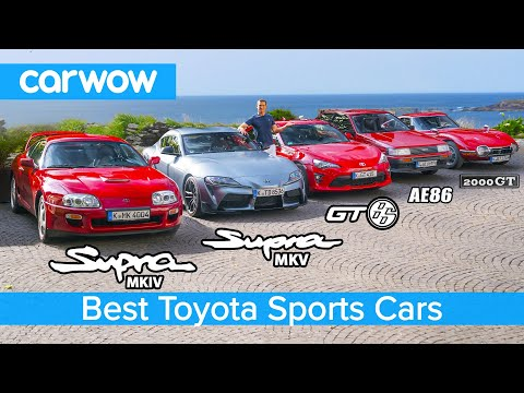 New Supra v MK4 v 2000 GT v GT86 v AE86 v Celica - the best Toyota sports cars!