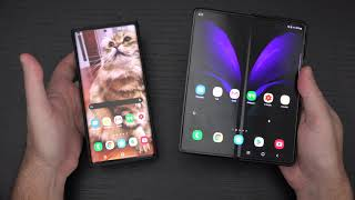Samsung Galaxy Z Fold2 5G vs Samsung Galaxy S20 Ultra