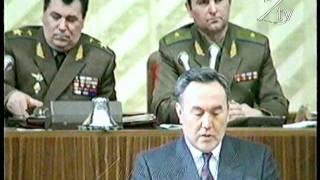 Назарбаев не побоялся выступить перед офицерами СНГ ... Репортаж