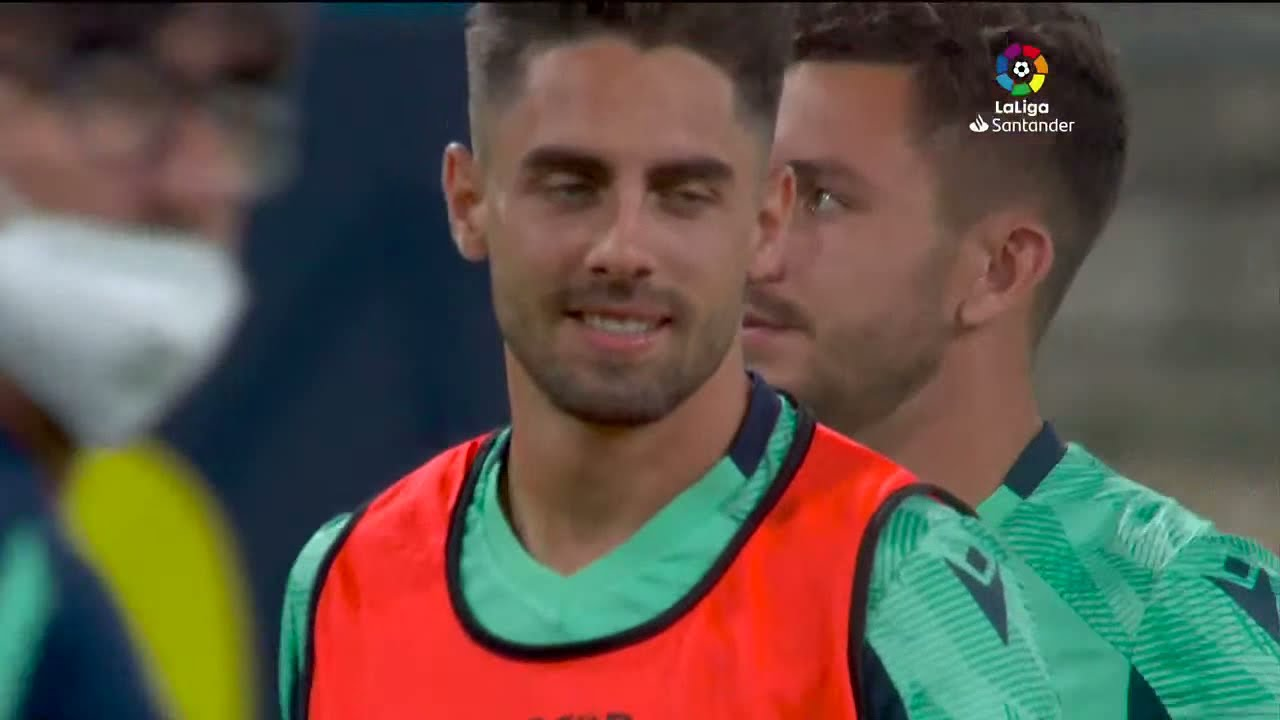 Calentamiento Cádiz CF vs FC Barcelona