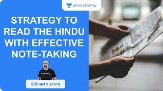 Strategy To Read The Hindu With Effective Note-Taking | UPSC CSE/IAS 2020 | Sidharth Arora - Download this Video in MP3, M4A, WEBM, MP4, 3GP
