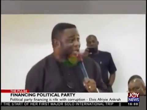 Financing Political Party - The Pulse on JoyNews (3-10-18)