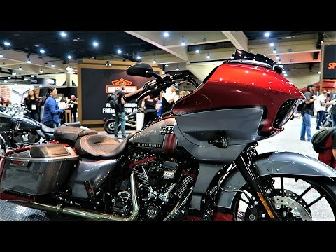 "2019 CVO Road Glide Harley-Davidson ""First Look"" │ All 3 Colors Shown"
