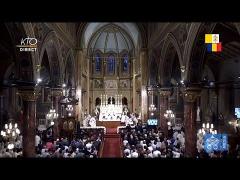 Messe du pape François à Bucarest