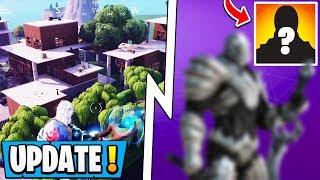 *NEW* Fortnite Update! | 7.01 Change, Secret Skin Revealed, Modern Mills POI!