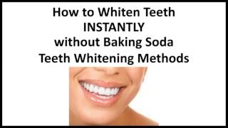 How To Get White Teeth In 5 Minutes Without Baking Soda 免费在线