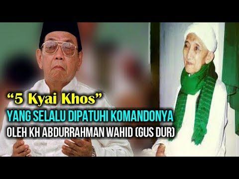 Kedekatan Gus Dur Dengan Guru Spìrìtùàlnyà KH Shonhaji Chasbullah Kebumen