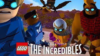 LEGO The Incredibles (ЛЕГО СУПЕРСЕМЕЙКА 2) - СУПЕРГЕРОИ ПОД ГИПНОЗОМ. 4K 60FPS
