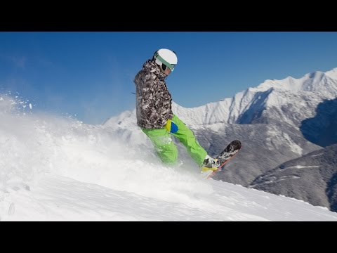 Learning Freeride Snowboards