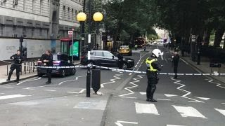 London car crash being treated as terrorism