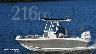 2019 Stingray 216cc - Florida Sportsman Video