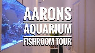 Aarons Aquarium Fishroom Tour