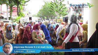 Massa Honorer K-2 Demo DPRK Aceh Barat