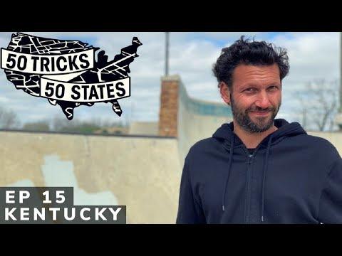 50 Tricks 50 States Skateboarding Challenge | Episode #15 | Kentucky