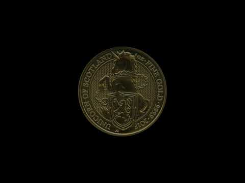 Video - 1 oz The Queens Beasts Unicorn - 2018