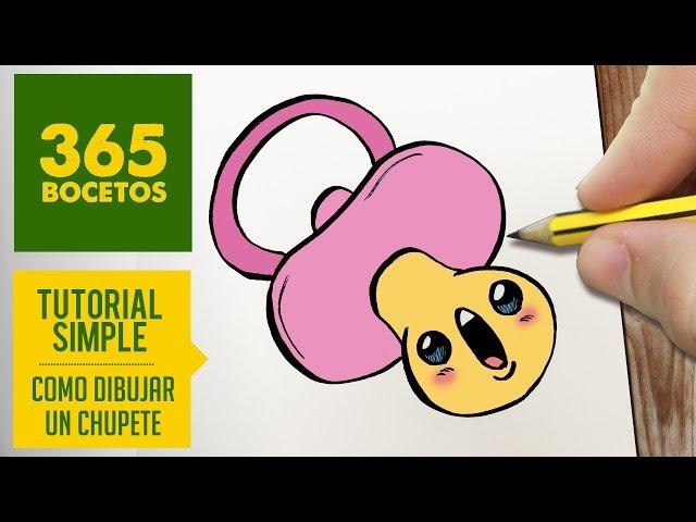 Video Como Dibujar Un Chupete Kawaii Paso A Paso Dibujos Kawaii