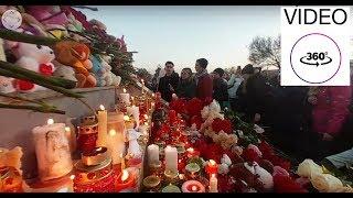 Иркутск поддержал Кемерово (митинг). Видео 360 №3 Покрути видео