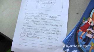 ESL Writing Activities - Beginning Essay Writing