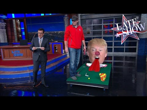 A Heckler Interrupts Stephen Colbert's Monologue