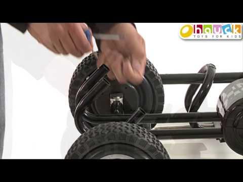 Setup Instruction go cart Lightning by hauck toys for kids