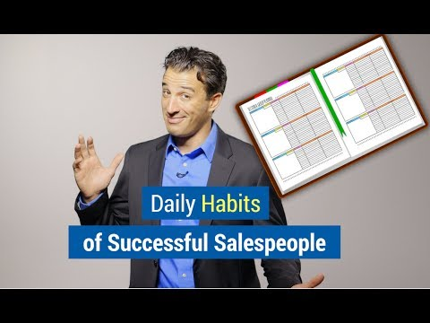 , title : 'Daily Habits of Successful Salespeople (Hint: Routine)