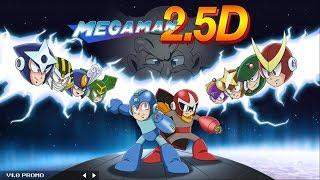 Megaman 2.5D (PC) - (Full game - no continues) + comentarios en tiempo real