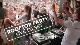 Triple Cooked Rooftop Party – Live DJ Set (10 Minute Clip) – Jamie Hartley