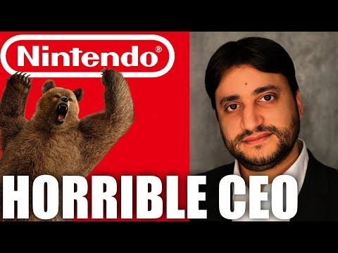 The Nintendo Of Russia CEO Is A Terrible Person (видео)