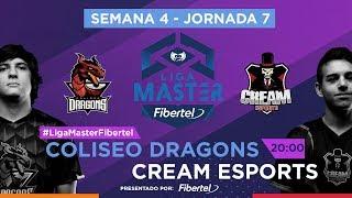 Coliseo Dragons VS Cream Esports | Jornada 7 | Liga Master Fibertel 2019