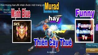Thiên Cày Thuê Cầm Murad Quẩy Nát Bét Rank Thách Đấu Việt
