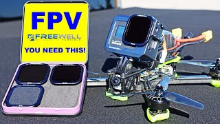 FPV Drone Flying & Filming for Pros - You Need This! Metal GoPro Hero 8 Mount with Filters.