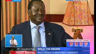 Raila Odinga speaks on his love for sports and being an Arsenal fan