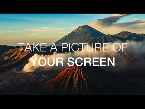 Quick Tip - Take A Picture Of Your Screen