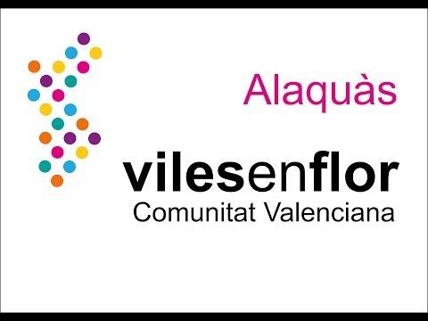 ALAQUÀS REP EL PREMI VILES EN FLOR COMUNITAT VALENCIANA