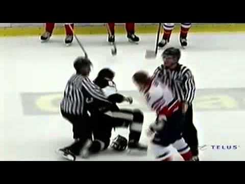 Aaron Hoyles vs. Ivan Barbashev
