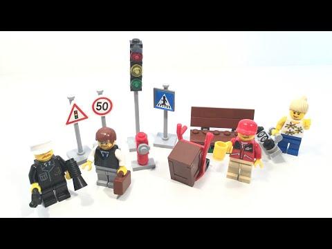 Vidéo LEGO City 8401 : Collection de figurines LEGO City