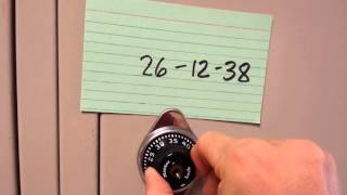 How To Open Your Locker (2014-2015 Edition) - Mr. Riedl