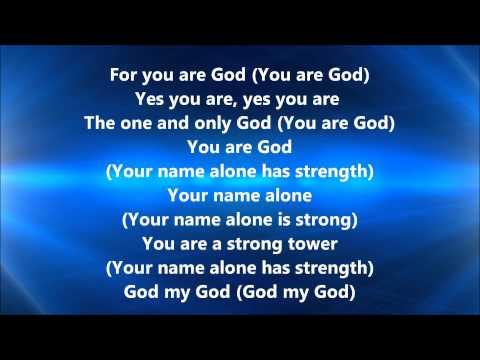 Vashawn Mitchell – God My God (Lyrics)