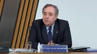 Alex Salmond's evidence: His key claims