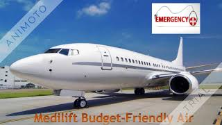 ICU Care Medilift Air Ambulance Service in Patna at Low Fare